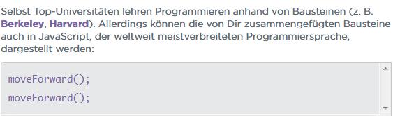 Kurs: Programmieren - Hour of Code